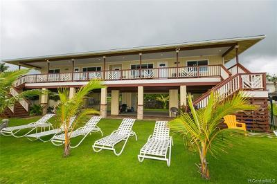 Single Family Home For Sale: 53-227 Kamehameha Highway