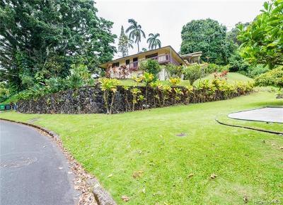 Single Family Home For Sale: 3469 Kahawalu Drive