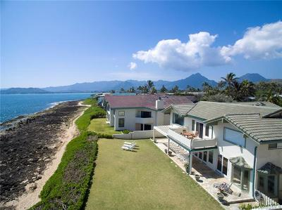 Kailua Single Family Home For Sale: 607 Milokai Street