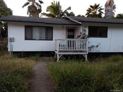 Waianae Single Family Home For Sale: 84-850 Hanalei Street