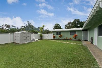 Kailua Single Family Home For Sale: 1210 Lunaai Street