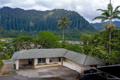 Kaneohe Single Family Home For Sale: 45-553 Ualani Place