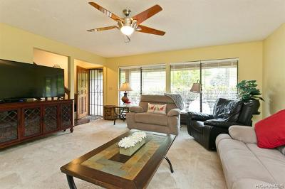 Pearl City Condo/Townhouse For Sale: 98-1750 Kaahumanu Street #48C