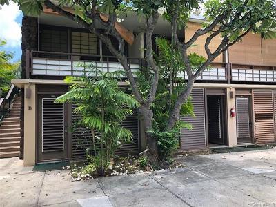 Honolulu Condo/Townhouse For Sale: 1700 Makiki Street #123