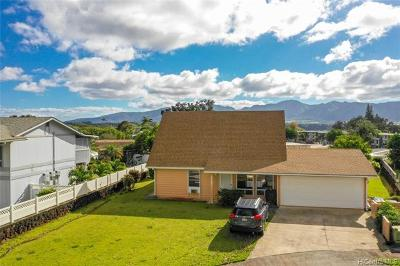 Mililani HI Single Family Home For Sale: $767,000