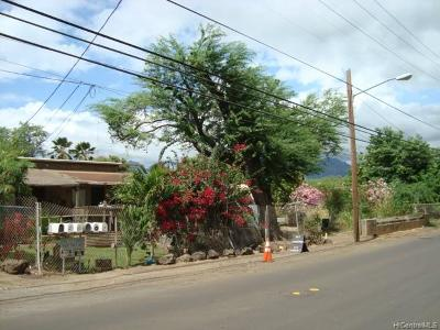 Single Family Home For Sale: 87-790 Hakimo Road