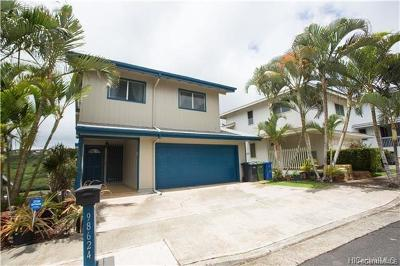 Aiea Single Family Home For Sale: 98-624 Puailima Street
