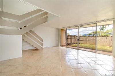 Mililani Condo/Townhouse For Sale: 95-350 Mahapili Court #148
