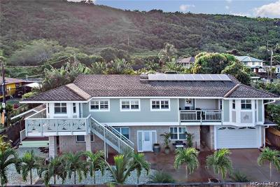 Haleiwa Single Family Home For Sale: 61-274 Kamehameha Highway #D