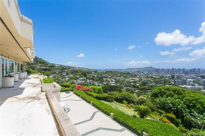 Honolulu Single Family Home For Sale: 2443 Makiki Hts Drive
