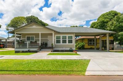 Wahiawa Single Family Home For Sale: 221 Kilani Avenue #6