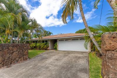Kailua Single Family Home For Sale: 281 Hamakua Drive