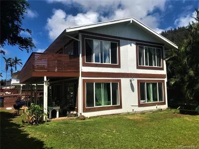 Haleiwa Single Family Home For Sale: 58-107 Iwia Place