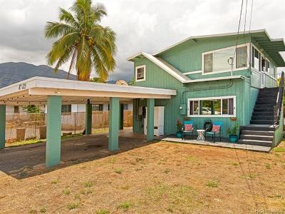 Single Family Home For Sale: 87-125 Kahau Street