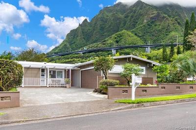 Kaneohe Single Family Home For Sale: 46-484 Makena Street