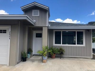 Single Family Home For Sale: 2824 Koaniani Way