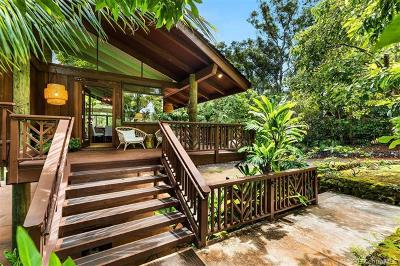 Haleiwa Single Family Home For Sale: 59-594 Pupukea Road