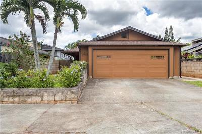 Mililani Single Family Home For Sale: 95-1198 Lalai Street