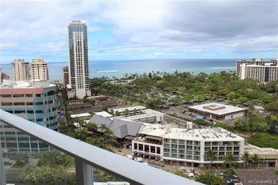 Honolulu County Condo/Townhouse For Sale: 2120 Lauula Street #2108