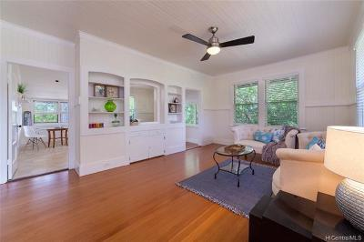 Honolulu Single Family Home For Sale: 3625 Sierra Drive
