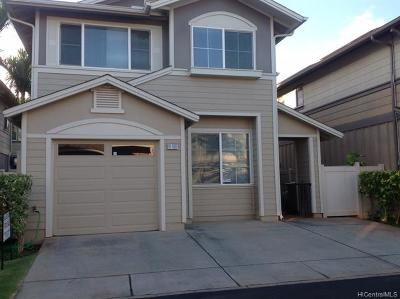 Ewa Beach Single Family Home For Sale: 91-1097 Kanela Street #T-7