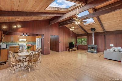 Haleiwa Single Family Home For Sale: 59-542 Aukauka Place
