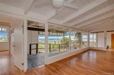Honolulu Single Family Home For Sale: 1446 Alewa Drive #E