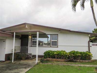 Kaneohe Single Family Home For Sale: 45-1129 Makamae Street