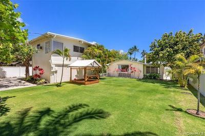 Kailua Single Family Home For Sale: 134 S Kalaheo Avenue
