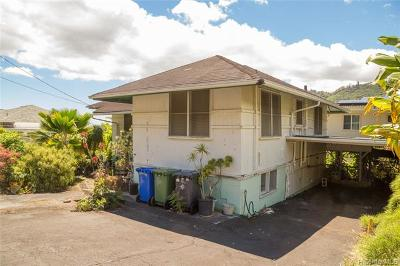 Honolulu County Residential Lots & Land In Escrow Not Showing: 3024 Lono Place