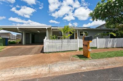 Aiea Single Family Home For Sale: 98-608 Kaimu Loop
