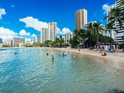 Honolulu Condo/Townhouse For Sale: 2500 Kalakaua Avenue #305