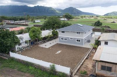 Waianae Single Family Home For Sale: 86-450 Halona Road