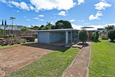Pearl City Single Family Home For Sale: 1671 Hoolana Street
