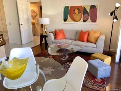 Hawaii County, Honolulu County Condo/Townhouse For Sale: 411 Hobron Lane #2109