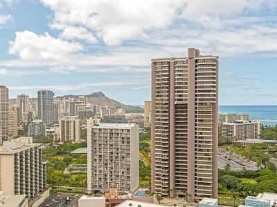 Honolulu Condo/Townhouse For Sale: 400 Hobron Lane #3103