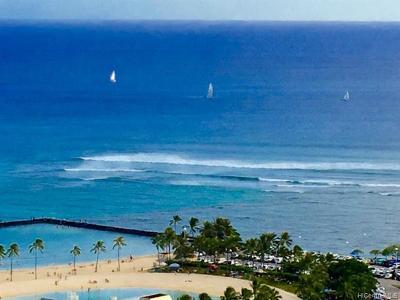 Hawaii County, Honolulu County Condo/Townhouse For Sale: 1700 Ala Moana Boulevard #3803