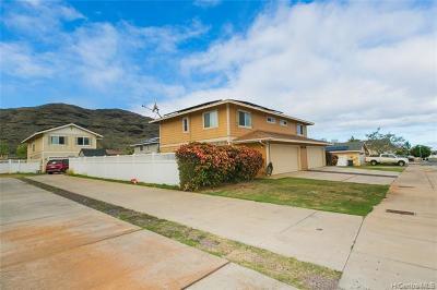 Waianae Single Family Home For Sale: 87-1531 Nakii Street