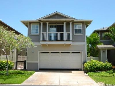 Ewa Beach Single Family Home For Sale: 91-2262 Kanela Street #T-61
