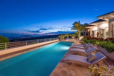 Honolulu Single Family Home For Sale: 1169 Ikena Circle