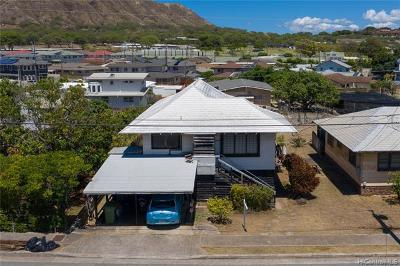 Single Family Home For Sale: 562 Hunalewa Street