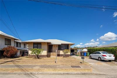 Honolulu Single Family Home For Sale: 566 Hunalewa Street