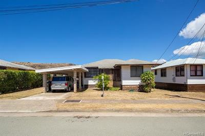 Honolulu Single Family Home For Sale: 604 Hunalewa Street