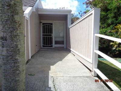 Kaneohe Rental For Rent: 44-140 Mui Place #8