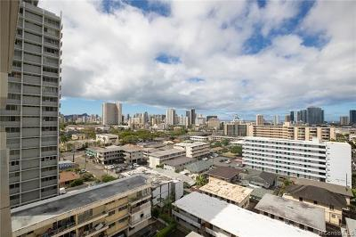 Honolulu, Kailua, Waimanalo, Honolulu, Kaneohe Condo/Townhouse For Sale: 1309 Wilder Avenue #1102