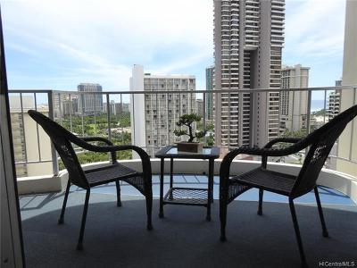 Honolulu County Condo/Townhouse In Escrow Showing: 469 Ena Road #2009