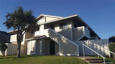 Waipahu Condo/Townhouse For Sale: 94-1097 Paawalu Street #U1