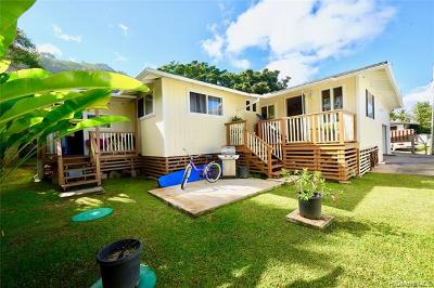 Haleiwa Single Family Home For Sale: 59-608a Kamehameha Highway