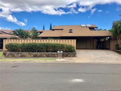 Mililani Single Family Home For Sale: 94-436 Kaweloalii Street