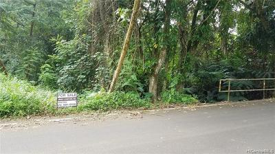 Honolulu County Residential Lots & Land For Sale: 00-000 Mapele Way